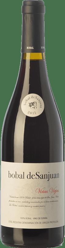 7,95 € Free Shipping | Red wine Valsangiacomo Bobal de Sanjuan Joven D.O. Utiel-Requena Valencian Community Spain Bobal Bottle 75 cl