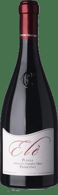 15,95 € Free Shipping | Red wine Chiaromonte Elè I.G.T. Puglia Puglia Italy Primitivo Bottle 75 cl