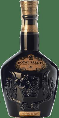 118,95 € Free Shipping | Whisky Blended Chivas Royal Salute 21 Speyside United Kingdom Bottle 70 cl