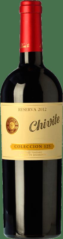 19,95 € Envoi gratuit   Vin rouge Chivite Colección 125 Reserva D.O. Navarra Navarre Espagne Tempranillo Bouteille 75 cl