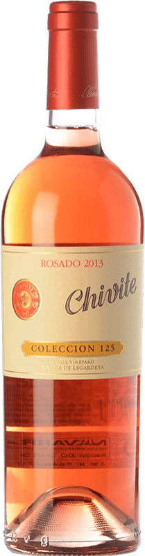 26,95 € Envoi gratuit | Vin rose Chivite Colección 125 D.O. Navarra Navarre Espagne Tempranillo, Grenache Bouteille 75 cl