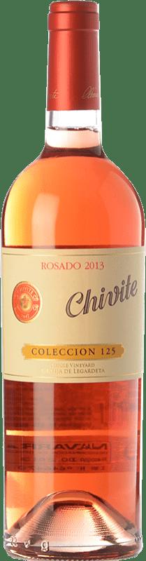 28,95 € Envío gratis | Vino rosado Chivite Colección 125 D.O. Navarra Navarra España Tempranillo, Garnacha Botella 75 cl