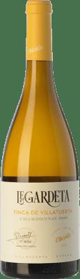 15,95 € Free Shipping | White wine Chivite Legardeta Finca de Villatuerta Crianza D.O. Navarra Navarre Spain Chardonnay Bottle 75 cl