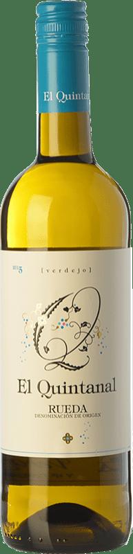 6,95 € Free Shipping   White wine Cillar de Silos El Quintanal D.O. Rueda Castilla y León Spain Verdejo Bottle 75 cl