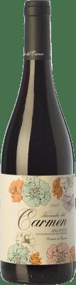 9,95 € Free Shipping | Red wine Cillar de Silos Hacienda del Carmen Joven D.O. Arlanza Castilla y León Spain Tempranillo Bottle 75 cl