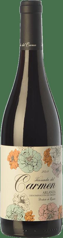 9,95 € Free Shipping   Red wine Cillar de Silos Hacienda del Carmen Joven D.O. Arlanza Castilla y León Spain Tempranillo Bottle 75 cl