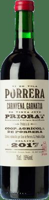 16,95 € Envío gratis | Vino tinto Cims de Porrera Vi de Vila Crianza D.O.Ca. Priorat Cataluña España Garnacha, Cariñena Botella 75 cl