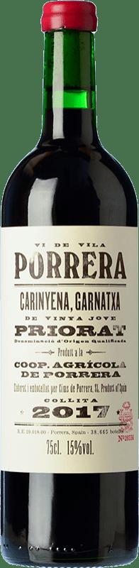 16,95 € Free Shipping | Red wine Cims de Porrera Vi de Vila Crianza D.O.Ca. Priorat Catalonia Spain Grenache, Carignan Bottle 75 cl