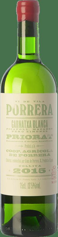 15,95 € Free Shipping | White wine Cims de Porrera Vi de Vila Blanc Crianza D.O.Ca. Priorat Catalonia Spain Grenache White, Pedro Ximénez, Picapoll Bottle 75 cl