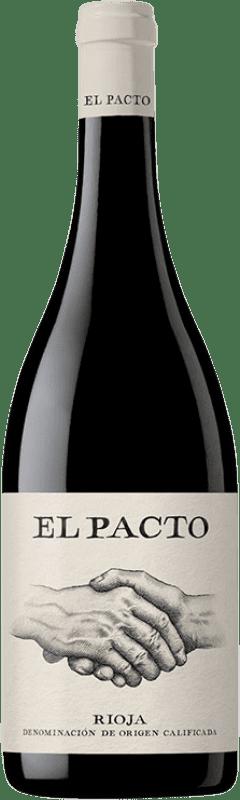 16,95 € Free Shipping | Red wine Classica El Pacto Crianza D.O.Ca. Rioja The Rioja Spain Tempranillo, Grenache Bottle 75 cl