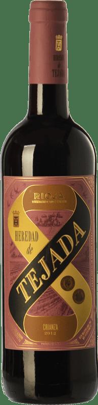 4,95 € Envoi gratuit | Vin rouge Classica Heredad de Tejada Crianza D.O.Ca. Rioja La Rioja Espagne Tempranillo Bouteille 75 cl