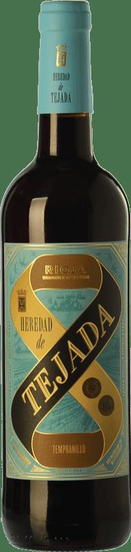 3,95 € Envoi gratuit | Vin rouge Classica Heredad de Tejada Joven D.O.Ca. Rioja La Rioja Espagne Tempranillo Bouteille 75 cl