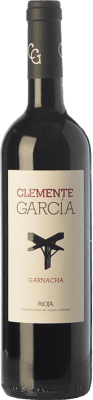15,95 € Free Shipping | Red wine Clemente García Crianza D.O.Ca. Rioja The Rioja Spain Grenache Bottle 75 cl