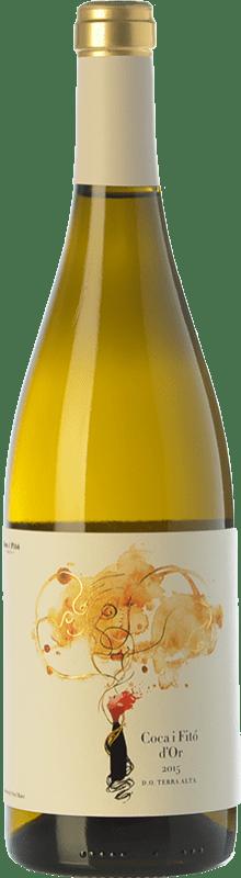 16,95 € Envoi gratuit | Vin blanc Coca i Fitó d'Or Crianza D.O. Terra Alta Catalogne Espagne Grenache Blanc, Macabeo Bouteille 75 cl