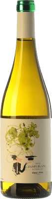 9,95 € Envío gratis | Vino blanco Coca i Fitó Jaspi Blanc D.O. Terra Alta Cataluña España Garnacha Blanca, Macabeo Botella 75 cl