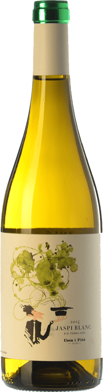 9,95 € Envoi gratuit | Vin blanc Coca i Fitó Jaspi Blanc D.O. Terra Alta Catalogne Espagne Grenache Blanc, Macabeo Bouteille 75 cl