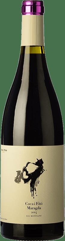 14,95 € Envoi gratuit | Vin rouge Coca i Fitó Jaspi Maragda Crianza D.O. Montsant Catalogne Espagne Syrah, Grenache, Cabernet Sauvignon, Carignan Bouteille Magnum 1,5 L