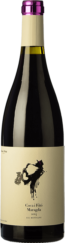 16,95 € Envoi gratuit | Vin rouge Coca i Fitó Jaspi Maragda Crianza D.O. Montsant Catalogne Espagne Syrah, Grenache, Carignan Bouteille 75 cl