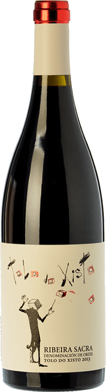 16,95 € Envío gratis | Vino tinto Coca i Fitó Tolo do Xisto Joven D.O. Ribeira Sacra Galicia España Mencía Botella 75 cl