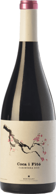 37,95 € Free Shipping | Red wine Coca i Fitó Carinyena Crianza D.O. Montsant Catalonia Spain Carignan Bottle 75 cl