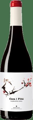 23,95 € Envío gratis | Vino tinto Coca i Fitó Garnatxa Crianza D.O. Montsant Cataluña España Garnacha Botella 75 cl