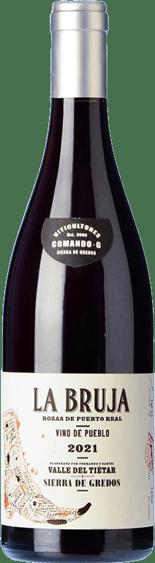 18,95 € Free Shipping | Red wine Comando G La Bruja Avería Joven D.O. Vinos de Madrid Madrid's community Spain Grenache Bottle 75 cl