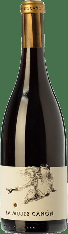 52,95 € Free Shipping | Red wine Comando G La Mujer Cañón Crianza D.O. Vinos de Madrid Madrid's community Spain Grenache Bottle 75 cl