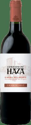 13,95 € Kostenloser Versand   Rotwein Condado de Haza Crianza D.O. Ribera del Duero Kastilien und León Spanien Tempranillo Flasche 75 cl