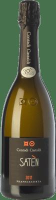 24,95 € Envoi gratuit | Blanc moussant Contadi Castaldi Satèn D.O.C.G. Franciacorta Lombardia Italie Chardonnay Bouteille 75 cl | Des milliers d'amateurs de vin nous font confiance avec la garantie du meilleur prix, une livraison toujours gratuite et des achats et retours sans complications.