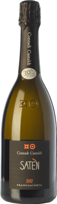 24,95 € Free Shipping | White sparkling Contadi Castaldi Satèn D.O.C.G. Franciacorta Lombardia Italy Chardonnay Bottle 75 cl | Thousands of wine lovers trust us to get the best price guarantee, free shipping always and hassle-free shopping and returns.