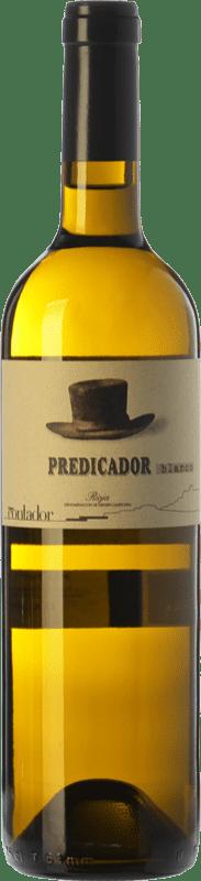 26,95 € Spedizione Gratuita | Vino bianco Contador Predicador D.O.Ca. Rioja La Rioja Spagna Viura, Malvasía, Grenache Bianca Bottiglia 75 cl