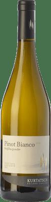 14,95 € Free Shipping | White wine Cortaccia Pinot Bianco D.O.C. Alto Adige Trentino-Alto Adige Italy Pinot White Bottle 75 cl