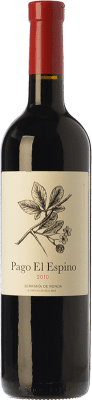 24,95 € Envoi gratuit | Vin rouge Los Aguilares Pago El Espino Crianza D.O. Sierras de Málaga Andalousie Espagne Tempranillo, Merlot, Petit Verdot Bouteille 75 cl