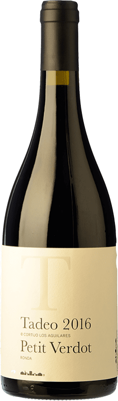33,95 € Envoi gratuit   Vin rouge Los Aguilares Tadeo de los Aguilares Crianza D.O. Sierras de Málaga Andalousie Espagne Syrah, Petit Verdot Bouteille 75 cl