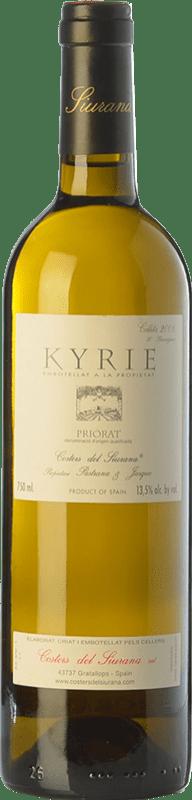 86,95 € Envoi gratuit | Vin blanc Costers del Siurana Kyrie Crianza 2010 D.O.Ca. Priorat Catalogne Espagne Grenache Blanc, Muscat d'Alexandrie, Macabeo, Xarel·lo Bouteille 75 cl