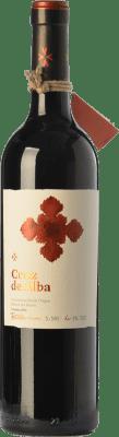 14,95 € Free Shipping | Red wine Cruz De Alba Crianza D.O. Ribera del Duero Castilla y León Spain Tempranillo Bottle 75 cl