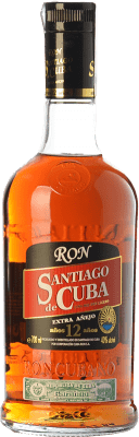 87,95 € Free Shipping | Rum Cubaron Santiago de 12 Años Cuba Bottle 70 cl