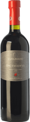 12,95 € Free Shipping | Red wine Cusumano Benuara I.G.T. Terre Siciliane Sicily Italy Syrah, Nero d'Avola Bottle 75 cl