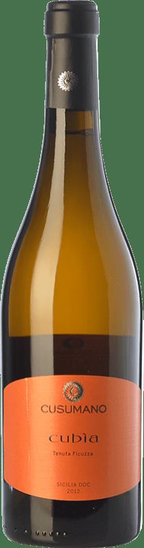 15,95 € Envoi gratuit | Vin blanc Cusumano Cubìa I.G.T. Terre Siciliane Sicile Italie Insolia Bouteille 75 cl
