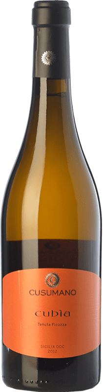 15,95 € Free Shipping | White wine Cusumano Cubìa I.G.T. Terre Siciliane Sicily Italy Insolia Bottle 75 cl