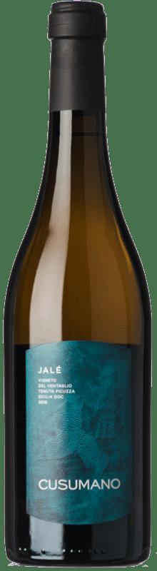 24,95 € Envoi gratuit | Vin blanc Cusumano Jalé I.G.T. Terre Siciliane Sicile Italie Chardonnay Bouteille 75 cl