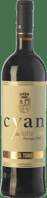 27,95 € Free Shipping | Red wine Cyan Prestigio Crianza D.O. Toro Castilla y León Spain Tinta de Toro Bottle 75 cl