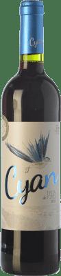 9,95 € Free Shipping | Red wine Cyan 6 Meses Roble D.O. Toro Castilla y León Spain Tinta de Toro Bottle 75 cl