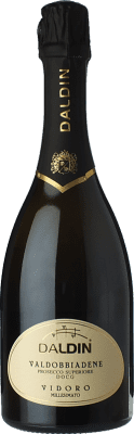 17,95 € Free Shipping | White sparkling DalDin Vidoro D.O.C.G. Prosecco di Conegliano-Valdobbiadene Treviso Italy Glera Bottle 75 cl. | Thousands of wine lovers trust us to get the best price guarantee, free shipping always and hassle-free shopping and returns.