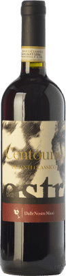 17,95 € Free Shipping | Red wine Dalle Nostre Mani Centouno D.O.C.G. Chianti Classico Tuscany Italy Sangiovese, Canaiolo Bottle 75 cl