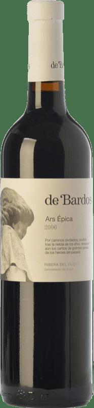 12,95 € Envío gratis | Vino tinto Bardos Ars Épica Crianza D.O. Ribera del Duero Castilla y León España Tempranillo Botella 75 cl