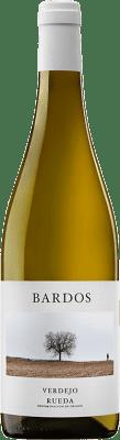 7,95 € Envoi gratuit | Vin blanc Bardos Ars Romántica Joven D.O. Rueda Castille et Leon Espagne Verdejo Bouteille 75 cl