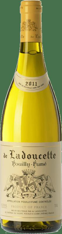 38,95 € Free Shipping | White wine Ladoucette A.O.C. Blanc-Fumé de Pouilly Loire France Sauvignon White Bottle 75 cl