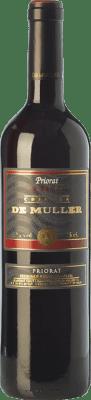 8,95 € Envío gratis | Vino tinto De Muller Legítim de Muller Crianza D.O.Ca. Priorat Cataluña España Merlot, Syrah, Garnacha, Cariñena Botella 75 cl