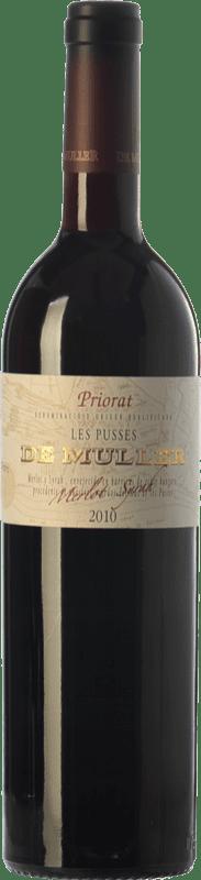 18,95 € Envío gratis | Vino tinto De Muller Les Pusses Crianza D.O.Ca. Priorat Cataluña España Merlot, Syrah Botella 75 cl